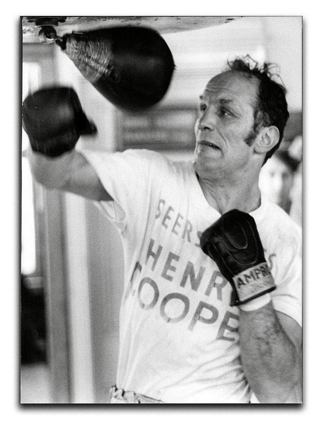 Henry Cooper in training Canvas Print or Poster