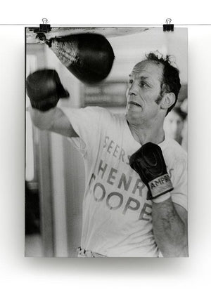 Henry Cooper in training Canvas Print or Poster - Canvas Art Rocks - 2
