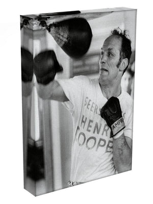Henry Cooper in training Canvas Print or Poster - Canvas Art Rocks - 3