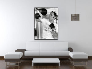 Henry Cooper in training Canvas Print or Poster - Canvas Art Rocks - 4
