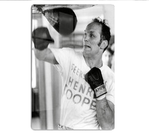 Henry Cooper in training HD Metal Print