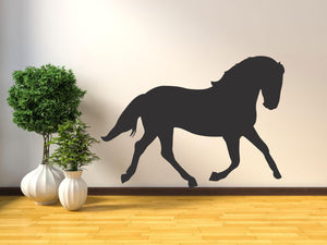 Horse Silhouette - Version 3 Wall Sticker - Canvas Art Rocks - 1