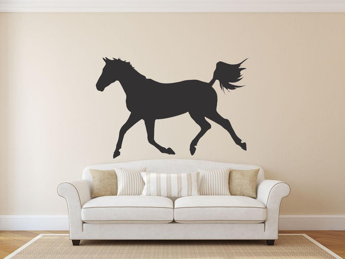 Horse Silhouette - Version 4 Wall Sticker