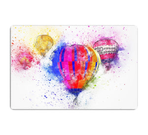 Hot Air Ballon Splash Version 2 HD Metal Print