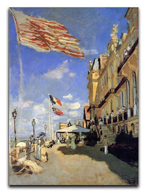 Hotel de Roches Noires a Trouville by Monet Canvas Print & Poster  - Canvas Art Rocks - 1