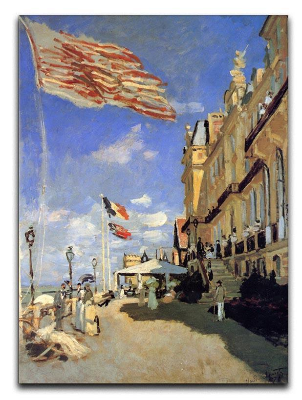 Hotel de Roches Noires a Trouville by Monet Canvas Print or Poster
