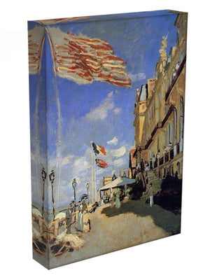 Hotel de Roches Noires a Trouville by Monet Canvas Print & Poster - Canvas Art Rocks - 3