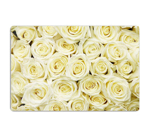 Huge bouquet of white roses HD Metal Print
