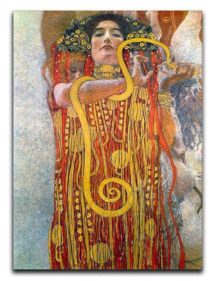 Hygeia by Klimt Canvas Print or Poster  - Canvas Art Rocks - 1
