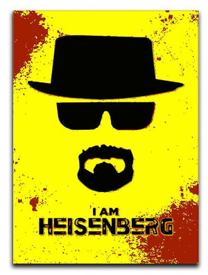 I am Heisenberg Canvas Print or Poster  - Canvas Art Rocks - 1