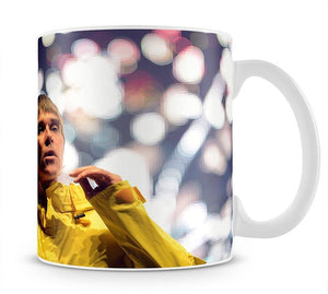 Ian Brown of the Stone Roses at the Isle of Wight Mug - Canvas Art Rocks - 1