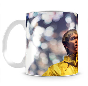 Ian Brown of the Stone Roses at the Isle of Wight Mug - Canvas Art Rocks - 2