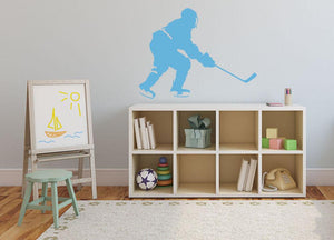 Ice Hockey Wall Sticker - Canvas Art Rocks