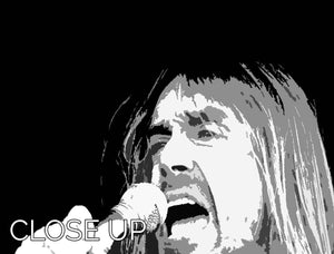 Iggy Pop 3 Split Panel Canvas Print - Canvas Art Rocks - 3