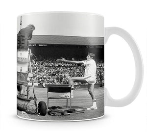 Ilie Nastase argues with the umpire Mug - Canvas Art Rocks - 1