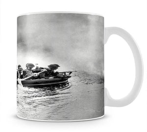 Infantry brigade assault boat drill Mug - Canvas Art Rocks - 1