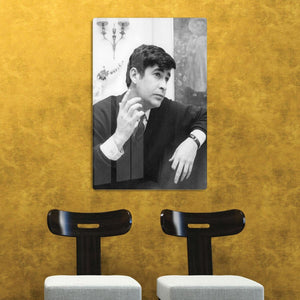 Irish comedian Dave Allen HD Metal Print