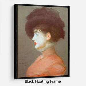 Irma Brunne by Manet Floating Frame Canvas