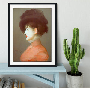 Irma Brunne by Manet Framed Print - Canvas Art Rocks - 1