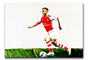 Jack Wilshere Print - Canvas Art Rocks - 1