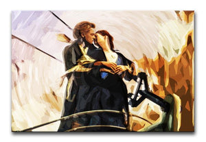 Titanic Jack & Rose Canvas Print - Canvas Art Rocks - 1