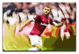Jack Wilshere West Ham Canvas Print or Poster  - Canvas Art Rocks - 1