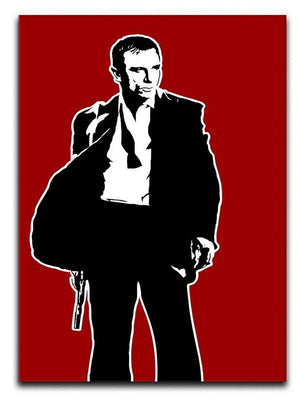 James Bond Casino Royale Pop Art Canvas Print or Poster  - Canvas Art Rocks - 1