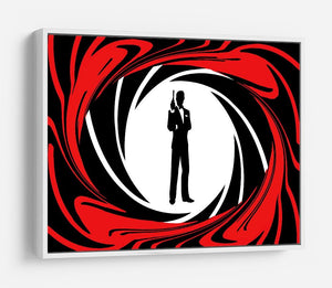 James Bond Opening Sequence HD Metal Print