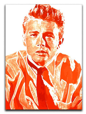 James Dean Print - Canvas Art Rocks - 1