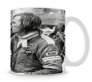 James Hunt swigging champagne Mug - Canvas Art Rocks - 1