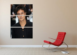 Jamie Cullum 3 Split Panel Canvas Print - Canvas Art Rocks - 2