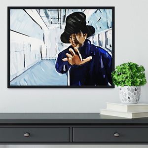 Jay Kay Jamiroquai Framed Print - Canvas Art Rocks - 2