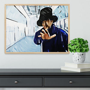 Jay Kay Jamiroquai Framed Print - Canvas Art Rocks - 4