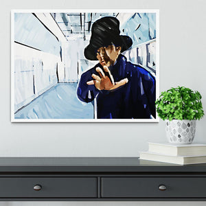 Jay Kay Jamiroquai Framed Print - Canvas Art Rocks -6