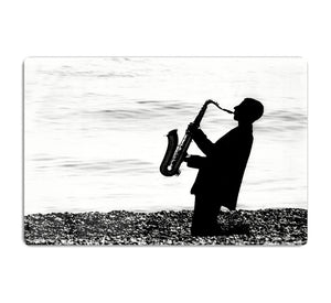 Jazz on the beach HD Metal Print - Canvas Art Rocks - 1