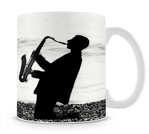 Jazz on the beach Mug - Canvas Art Rocks - 1