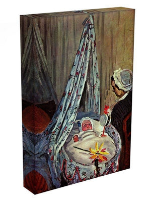 Jean Monet in the cradle by Monet Canvas Print & Poster - Canvas Art Rocks - 3