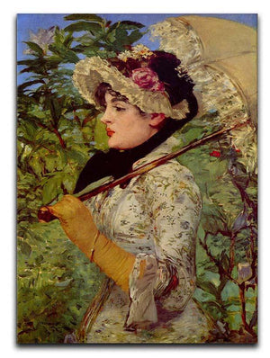 Jeanne by Manet Canvas Print or Poster  - Canvas Art Rocks - 1