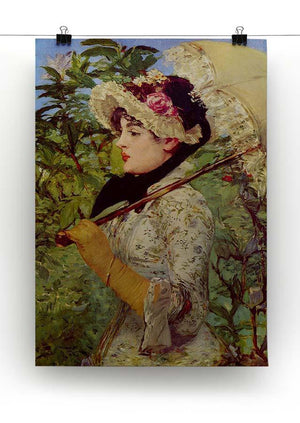 Jeanne by Manet Canvas Print or Poster - Canvas Art Rocks - 2