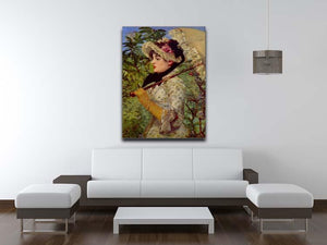 Jeanne by Manet Canvas Print or Poster - Canvas Art Rocks - 4