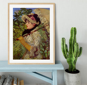 Jeanne by Manet Framed Print - Canvas Art Rocks - 3