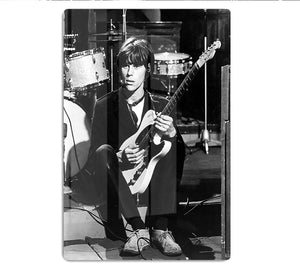 Jeff Beck in 1967 HD Metal Print - Canvas Art Rocks - 1