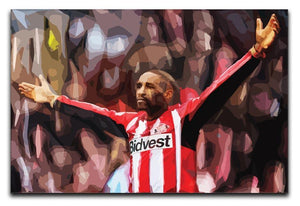 Jermain Defoe Print - Canvas Art Rocks - 1