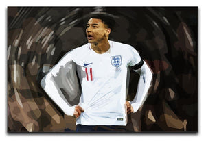 Jesse Lingard England Canvas Print or Poster  - Canvas Art Rocks - 1