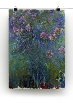 Jewelry lilies by Monet Canvas Print & Poster - Canvas Art Rocks - 2