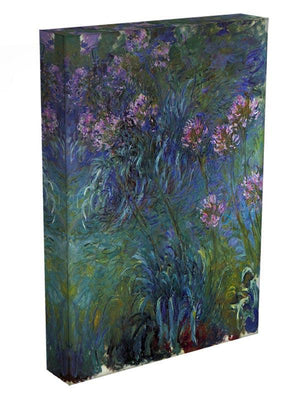 Jewelry lilies by Monet Canvas Print & Poster - Canvas Art Rocks - 3