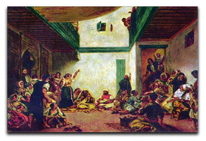 Jewish wedding after Delacroix by Renoir Canvas Print or Poster  - Canvas Art Rocks - 1
