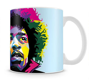Jimi Hendrix Pop Art Mug - Canvas Art Rocks - 1