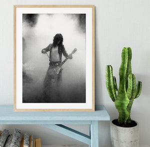 Jimmy Page on stage Framed Print - Canvas Art Rocks - 3