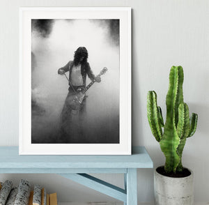 Jimmy Page on stage Framed Print - Canvas Art Rocks - 5